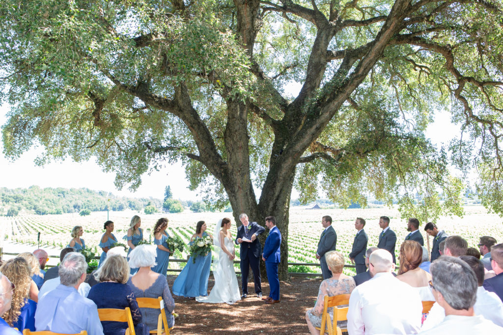 Wine Country ceremony at Ru's Farm