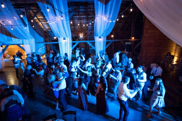 Wedding Dance Party in Historic Barn