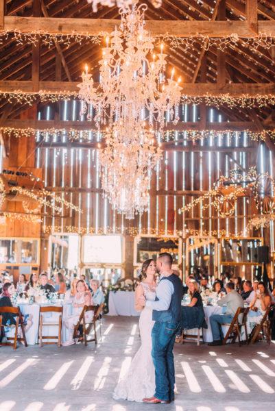Ranch barn wedding at Spring Hill Estate