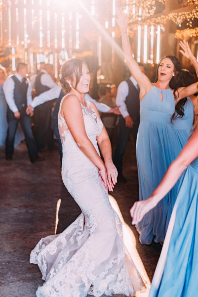 Ranch wedding party at Spring Hill Estate
