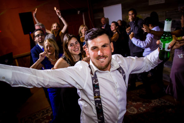 Dance party at Russian River Vineyards Wedding