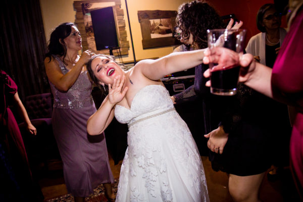 Bride dancing at her Russian River Vineyards Wedding!